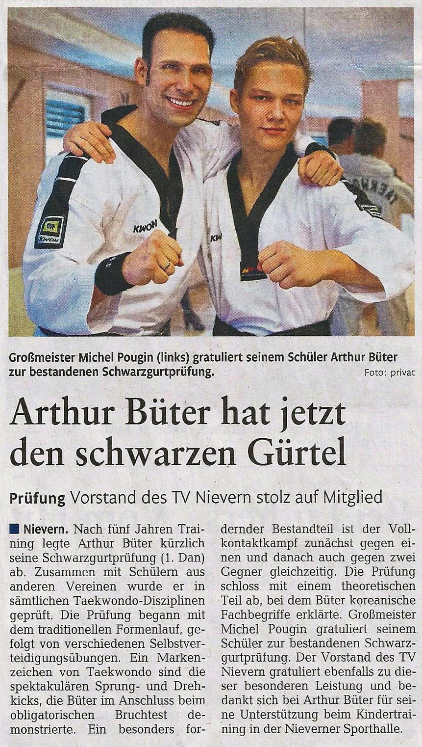 TKD - Zeitungsartikel 01